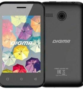 Смартфон Digma XS350, новый.