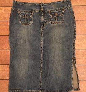 Guess джинсовая юбка, р. S