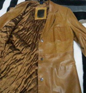 Коженый пиджак