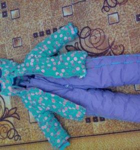 Зимний костюм на девочку 3х лет