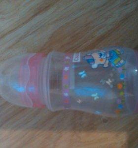 Бутылочка, ложки новые