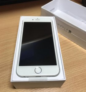 Новый iPhone 6 16Gb, Silver