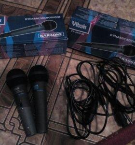 Микрофоны для караокио