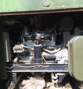 Военный кунг с двумя генераторами