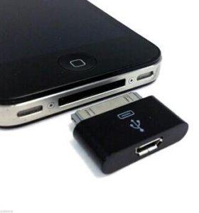 Переходник для зарядки iPhone 4.4S