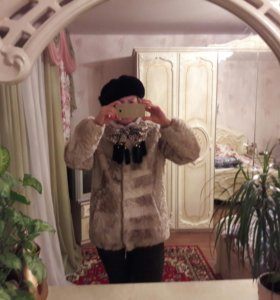 Куртка из мутона.