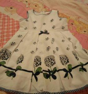 Платье на подкладке х/б