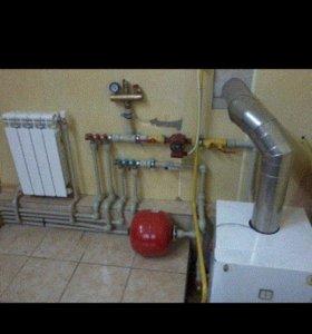 Водяной теплый пол и отопление