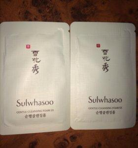 Sulwashoo мягкая пенка для умывания люкс