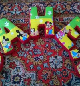 Буквы подушки любое имя!!!!