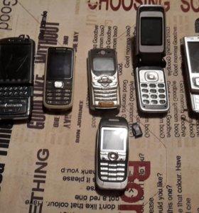 Телефоны (Nokia , Nokia, Motorola, Nokia, Nokia,