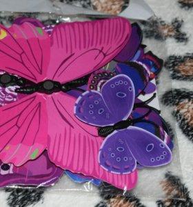 Бабочки 3D