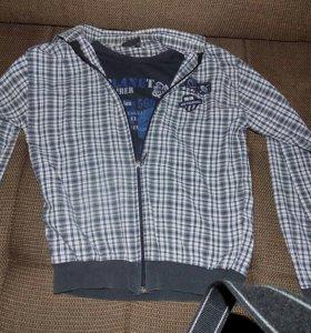 Рубашка для мальчика 10-13лет