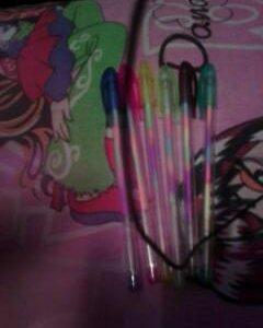 Разноцветные гелевые ручки