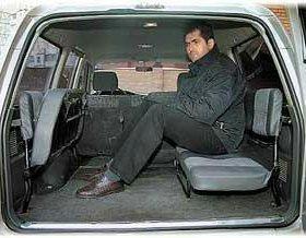 Сиденья в багажник Toyota Land Cruiser 100