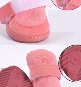 Зимняя обувь сапоги для собаки