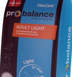 Корм ProBalance Adult Light 15 кг