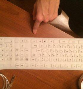 Клавиатура-мягкая-силиконовая