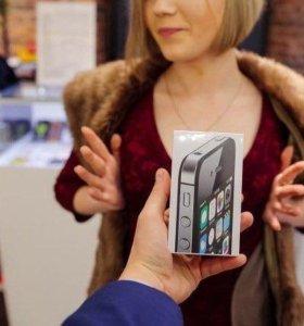 Iphone 4s + часы