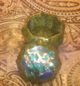 Шкатулки из камня
