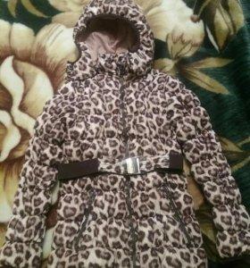 Куртка на девочку рост 140