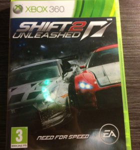 Игра на Xbox360 SHIFT 2 need for speed