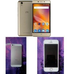 Айфон 5 s и ZTE Blade X3 (возм.обмен)