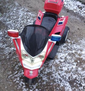 Электромотоцикл 12В  б/у