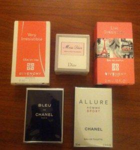 Миниатюры Dior Givenchy