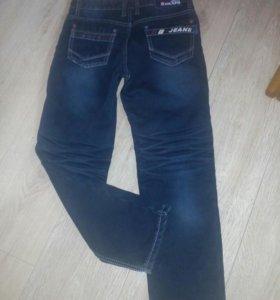 Новые тёплые джинсы