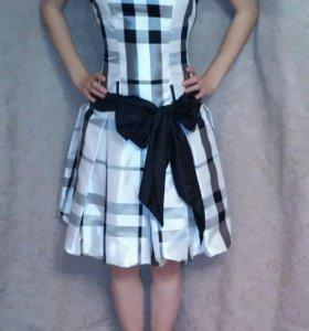 Платье с корсетом xs-s-m