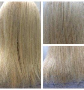 Обучение полировка волос