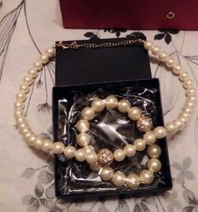 НОВЫЕ Жемчужные ожерелья