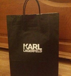 Рубашка Karl Lagerfeld. Новая. Плюс запонки
