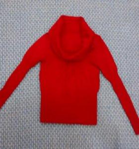 Красный джемпер размер S-M