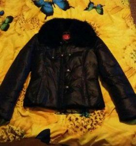 Куртка - пуховик  42 размера