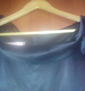 Платье вечернее.чёрное. Lo. 46  р.