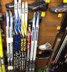 Комплекты лыж с ботинками от
