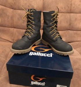 Ботинки  на натуральном меху Gallucci