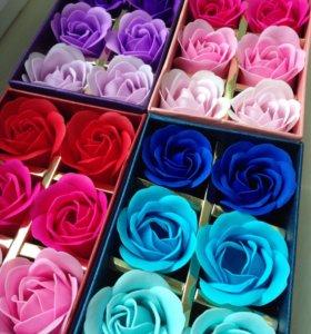 Мыло розы сувенир подарок на праздник