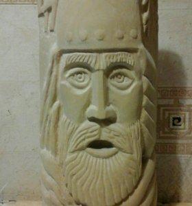 Славянские боги Перун и Велес ручной работы