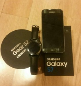 Samsung Galaxy s7 Samsung Geer s2classic