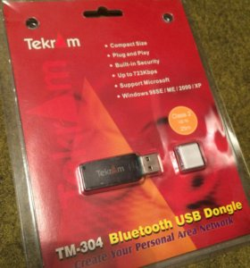 Bluetooth usb адаптер TekrAm
