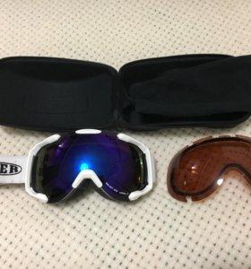 Сноубордические очки