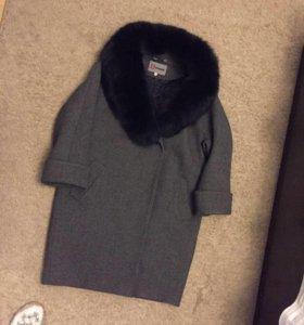 Пальто зимнее мех натуральный