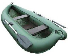 Надувная лодка ПВХ Компакт-260, слань, 260х122 см