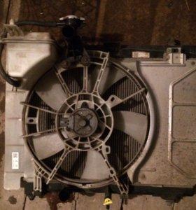 Радиатор кондиционера Toyota Yaris 2008