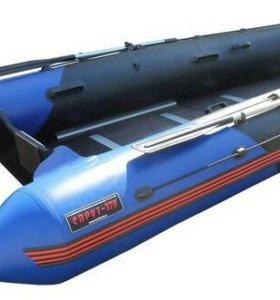 Лодка ПВХ Спрут-370Т Киль, под мотор 25 л.с.