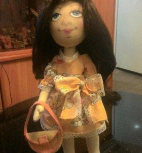 Кукла текстильная (ручная работа)