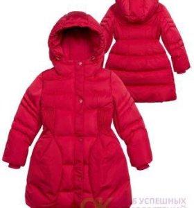 Пальто зимнее для девочки Pelican (новое)